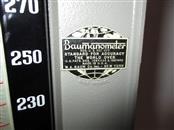 VINTAGE W.A. BAUM BAUMANOMETER IN METAL CASE.